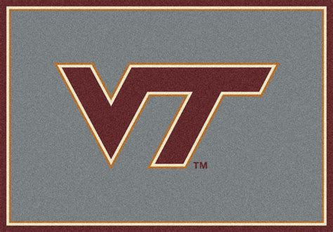 Virginia Tech Rug by College Area Rugs And School Logo Mats