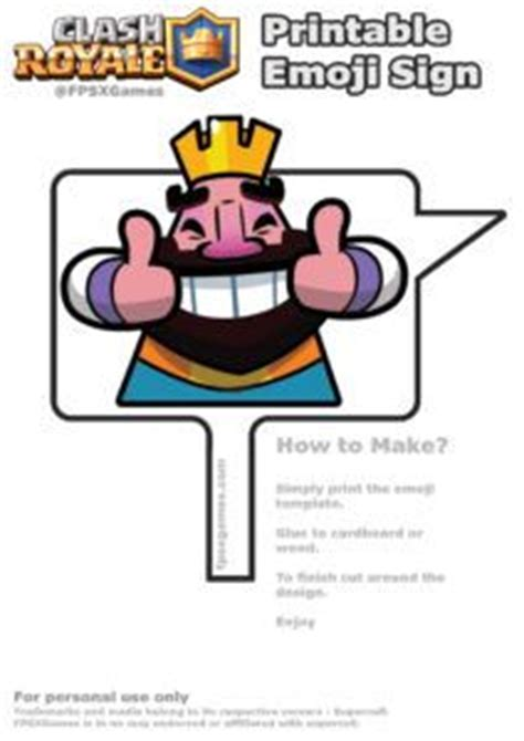 printable crown emoji 10 best images about clash royale stuff on pinterest