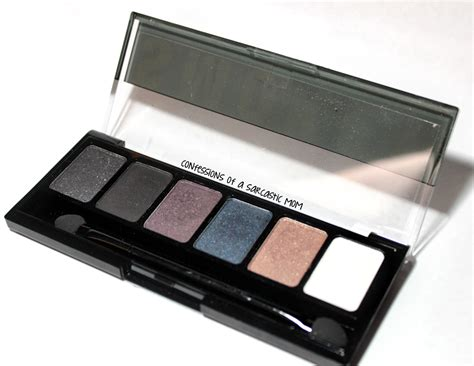 Nyx Eye Palette nyx smokey eye palette swatches review confessions of a