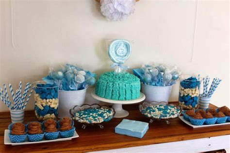 Blue Candies For Baby Shower by 31 Baby Shower Table Decoration Ideas Table