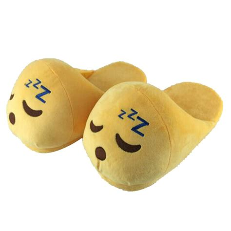 funny house shoes emoji slippers funny mens pantoufles indoor shoes house slippers emoji shoes warm