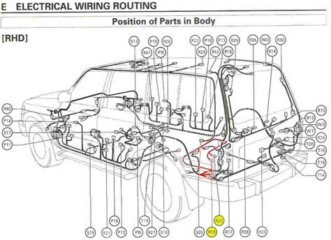 land cruiser 100 electrical wiring diagram 42 wiring