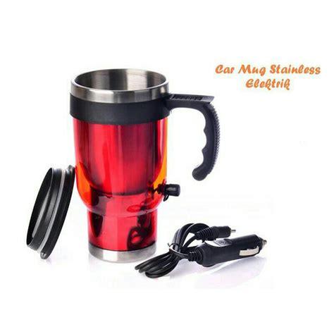 Panci Pemanas Air mug electric elektrik pemanas usb mobil car air minum gelas elevenia