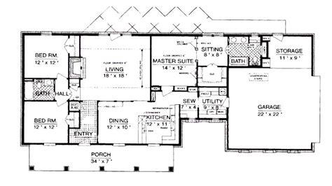 enchanting 2 bedroom house plans open floor plan trends