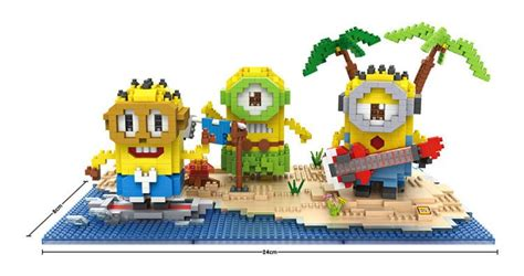 Lego Loz Minion Nano Lego loz micro blocks minions nanoblocks sets minion diy