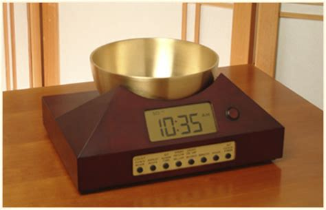 progression alarm clocks zen timepiece