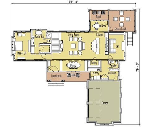 breathtaking ranch house plans with walkout basement open