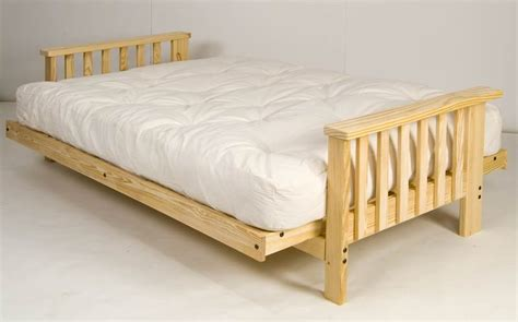 wooden futon beds wood futon beds