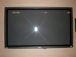 Flat Screen Tv With Wall Mount File Wall Mounted 36 Inch Flat Panel Panasonic Tv Jpg