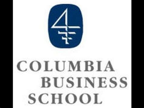 Mba Application Deadline Columbia by Essay 1b Update Vince Columbia Business School Mba