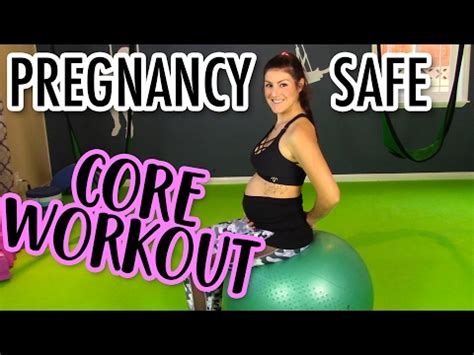pregnancy ab workout safe ab exercises for pregnancy
