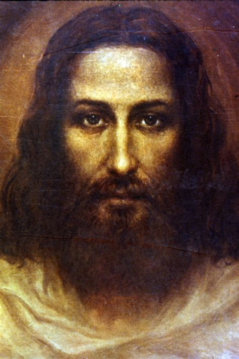 jesus painting painted copy of the of the holy shroud of turin