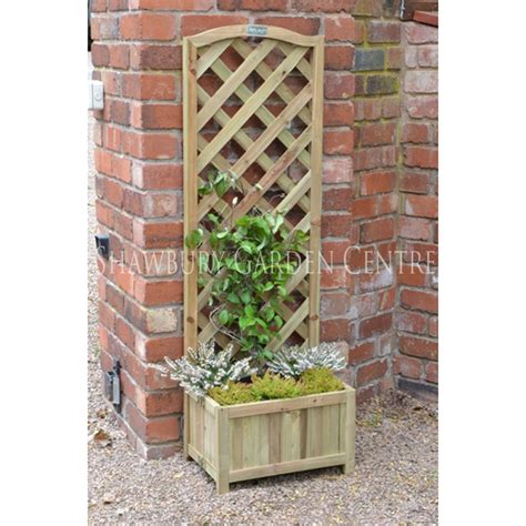 Garden Trellis Planter by Forest Garden Trellis Planter