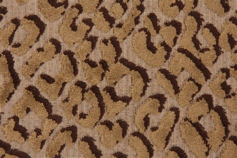 Hamilton Fabrics Jungle Cat Bamboo Blend Velvet Upholstery