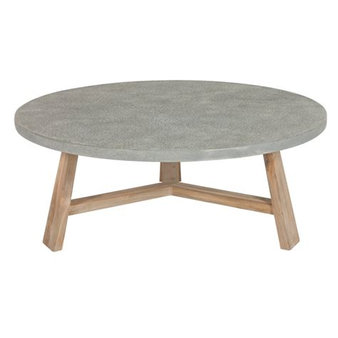 concrete coffee tables concrete coffee table our nest