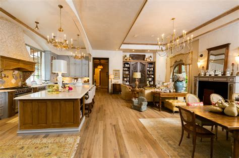 provincial living room ideas provincial kitchen living mediterranean family room houston by jonathan
