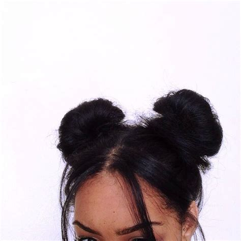 hairstyles space buns 25 best ideas about two buns hairstyle on pinterest two