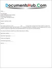 Bank Authorization Letter For Statement sample of authorization letter to collect bank statement