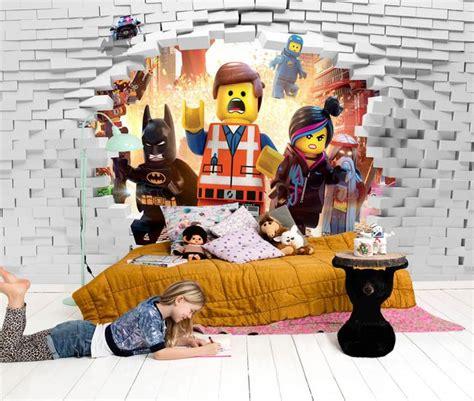 Tapisserie Lego by Papier Peint Personnalis 233 Pour Enfant Effet 3d Chambre