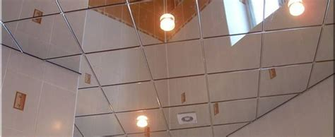 Mirror Ceiling Panels by Mirror Ceiling Tiles Ideas For Office