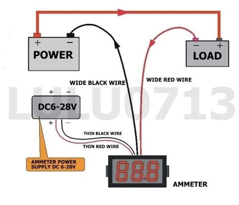 dc ammeter shunt wiring diagram wiring diagram with