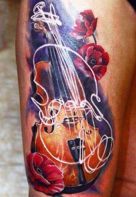 tattooed heart violin valentina ryabova lienzos vivos pinterest violin