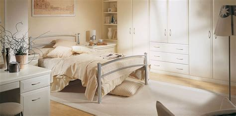 white fitted bedroom furniture alto fitted bedroom in alabaster white by strachan