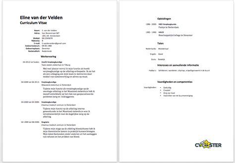 Voorbeeld Sollicitatiebrief Zorg Voorbeeld Cv 2018 voorbeeld cv verpleegkundige cv voorbeeld 2018
