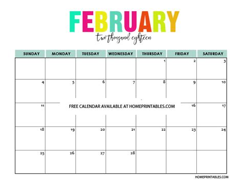 printable calendar january february march 2018 printable calendar 2018 in full colors free to print