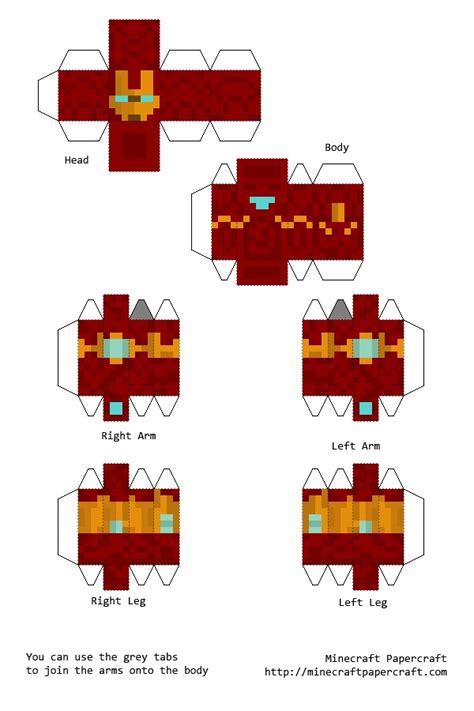 Iron Papercraft - papercraft iron