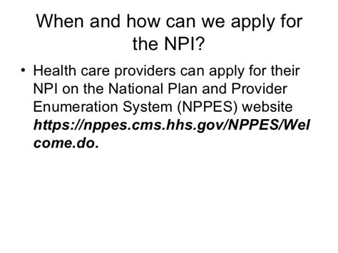 national plan and provider enumeration system nppes npi national provider identifier related to us health