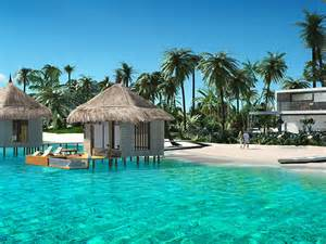 Tiki Bungalows Billionaire S Compound In Bahamas Listing For 41 Million