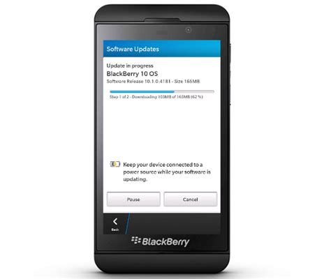 Bb Update by Blackberry Os 10 1 Maintenance Release Starts Rolling Out