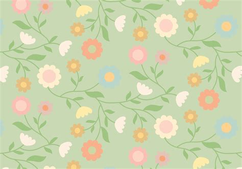 flower pattern design vector vintage floral pattern download free vector art stock