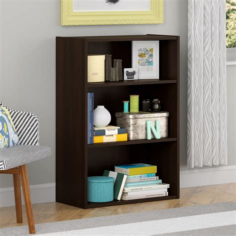 kmart 5 shelf bookcase cherry finish bookcase kmart com