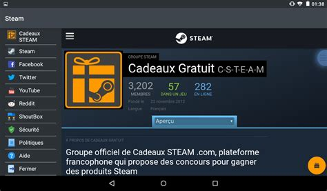 play steam on android cadeaux steam android apps on play