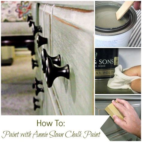 chalk paint tutorial how to paint furniture with sloan chalk paint