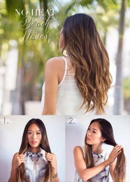 traditional no heat scittish hair styles how to get nice waves over night beauty trusper tip