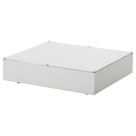 ikea small storage vard 214 bed storage box white 65x70 cm ikea