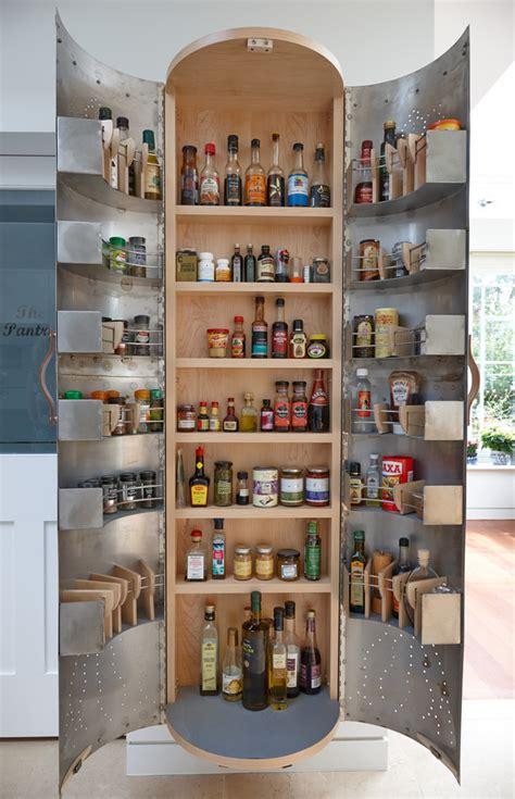 innovative freestanding pantryin kitchen traditional