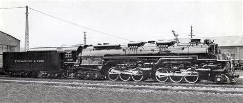 steam locomotive diagrams of the chesapeake ohio railroad richard leonard s random steam photo collection chesapeake ohio 2 6 6 6 1600