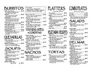santa mexican cuisine menu urbanspoon zomato