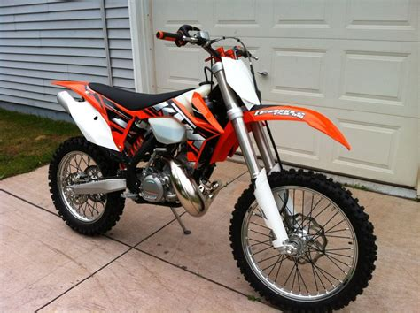 Ktm 200 Xcw Top Speed 2012 Ktm 200 Xc W Moto Zombdrive