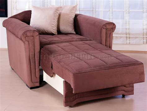 chair pull out bed truffle microfiber contemporary pull out bed loveseat