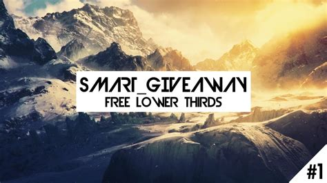 Smart Giveaways Unsubscribe - smart giveaway 1 free lower thirds youtube