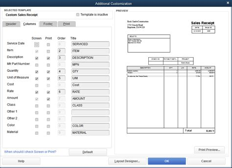 quickbooks edit sales receipt template understanding sales receipts in quickbooks and when to use