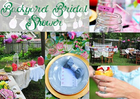 backyard bridal shower brunch birds of the feather