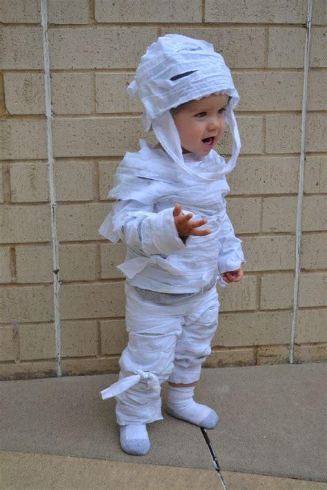 easy  sew childs mummy costume