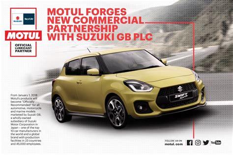 Suzuki Gb Plc Motul Forges New Partnership With Suzuki Gb Plc Witham
