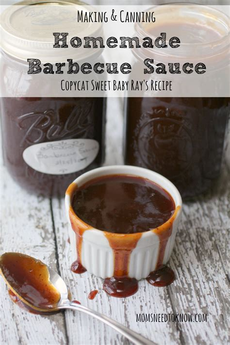 Handmade Bbq - barbecue sauce recipe copycat sweet baby s